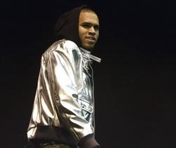 PARIS : Chris Brown performs