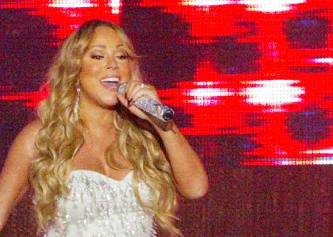 Mariah Carey Performs In Broadbeach Australia