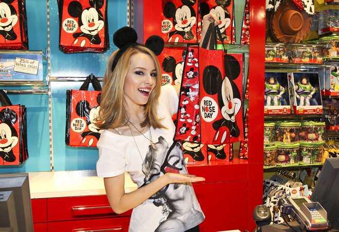 Bridgit Mendler Is A Fan Of Disney