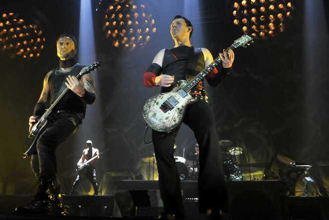 ZAGREB: Rammstein performs live at Zagreb Arena