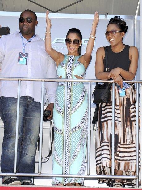 Celebrities attend the Grand Prix de Monaco Formula 1