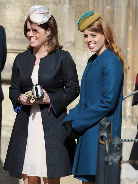 Members Of The Royal Family Leaving Easter Service