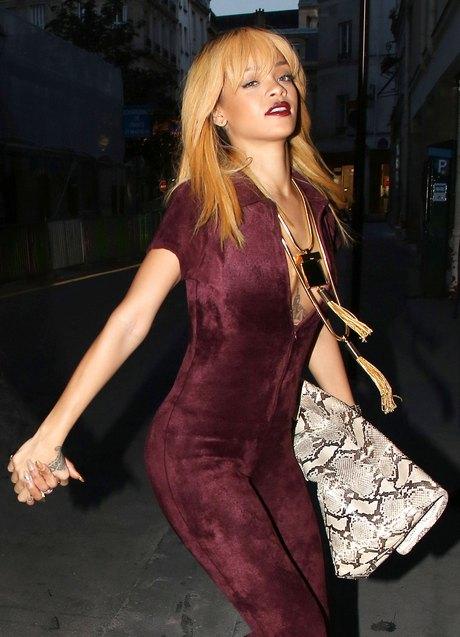 Rihanna At The Azzedine Alaia Cocktail Party