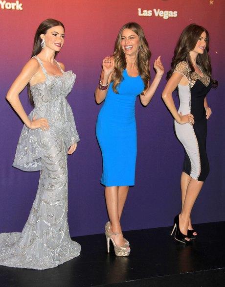 Sofia Vergara Wax Figure Unveiling At Madame Tussauds