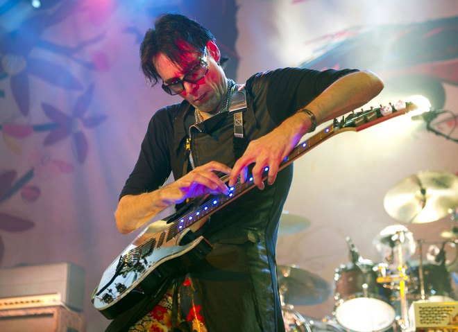 Steve Vai Performing Live In Madrid