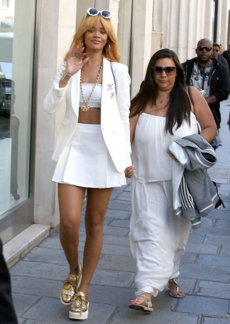 Rihanna Enjoys A Day Off In Paris