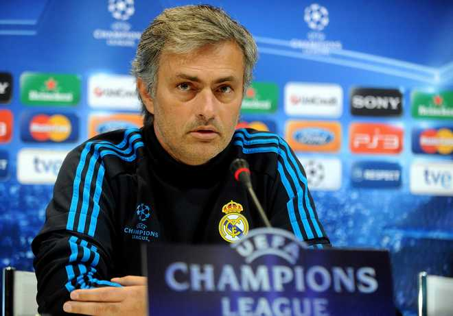 MADRID: Real Madrid's news conference