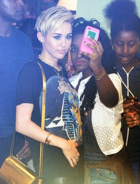 Miley Cyrus Is Loved In London