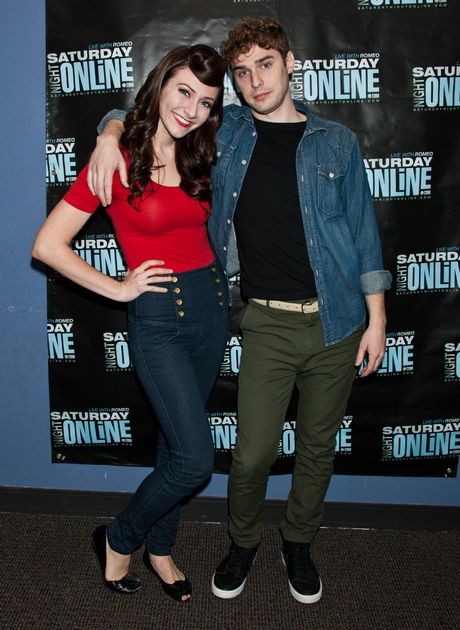 Karmin Performs At WIOQ's Performance Theatre