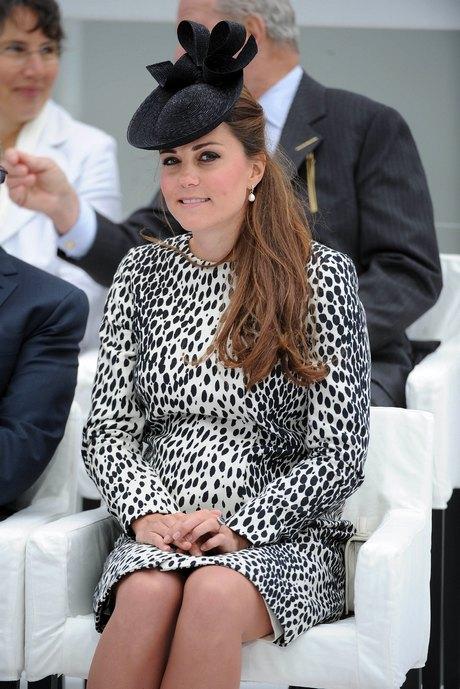 Kate Middleton Attends Princess Cruises Ship Naming Ceremony