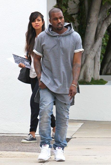 Kanye West Shops For Furniture In Beverly Hills