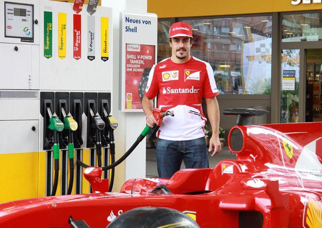 Hamburg Formula One driver Fernando Alonso