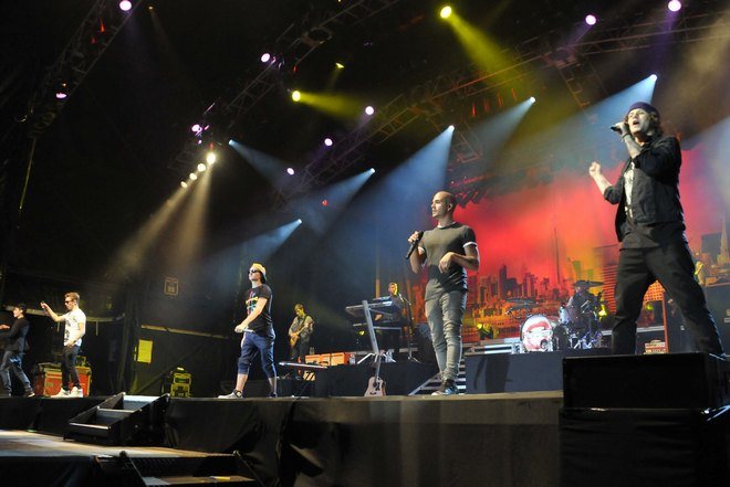The Wanted Perform At Rochester Castle