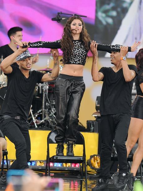 Selena Gomez Performs For Good Morning America