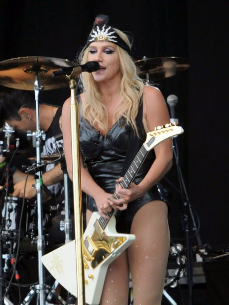 Kesha Performs Live At T In The Park in London