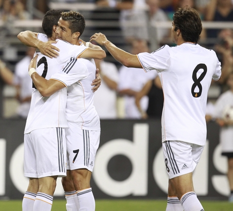 Angel DiMaria, Cristiano Ronaldo, Ricardo Leite