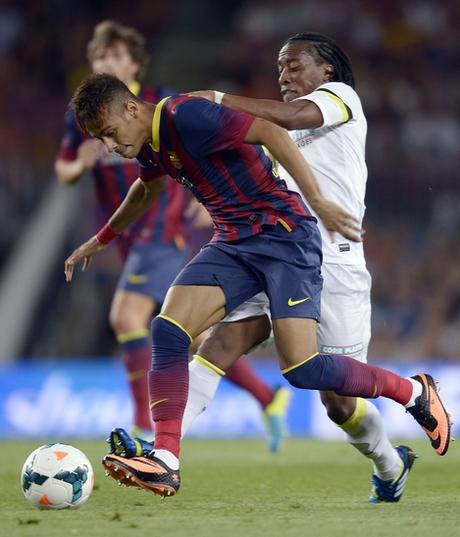 Neymar, Arouca