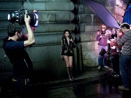 Behind the Scenes of Selena Gomez Music Video Shoot For SLOW DOWN