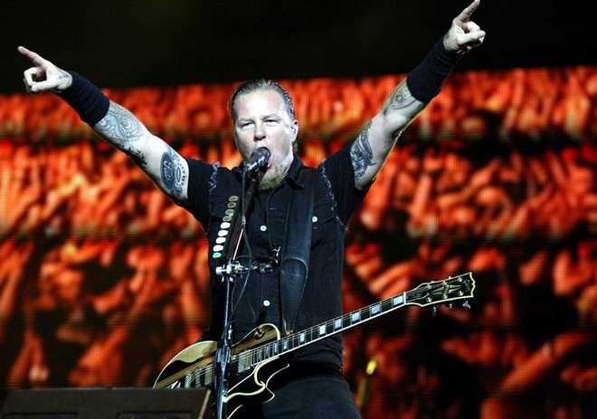 ISTANBUL : Heavy metal band Metallica concert