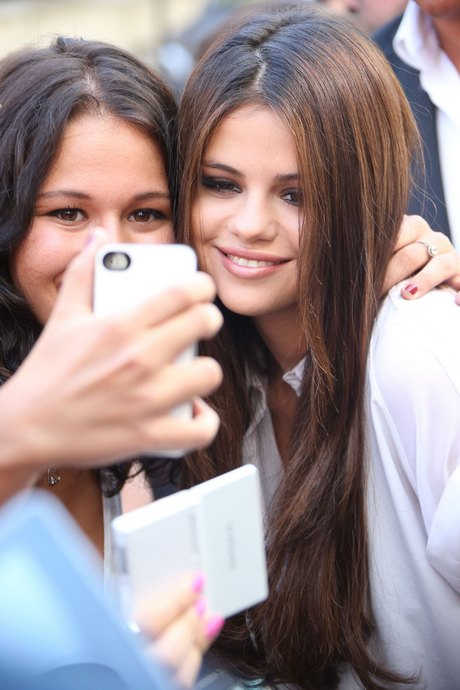 Selena Gomez Visits NRJ Radio Studios