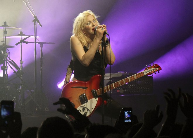 Courtney Love Performing At The Commodore Ballroom