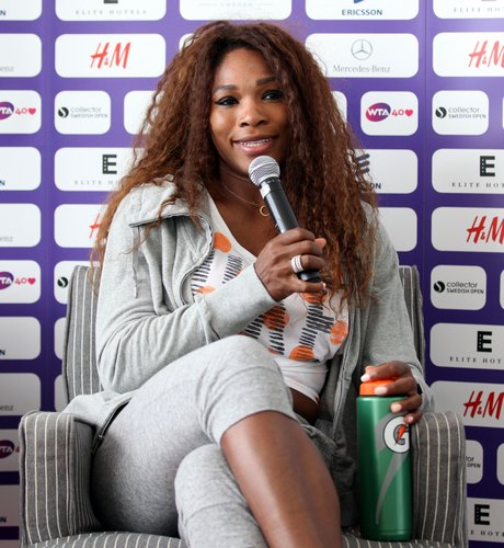 Serena Williams Meets The Press In Sweden
