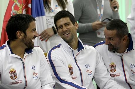 Serbia Canada Davis Cup Tennis