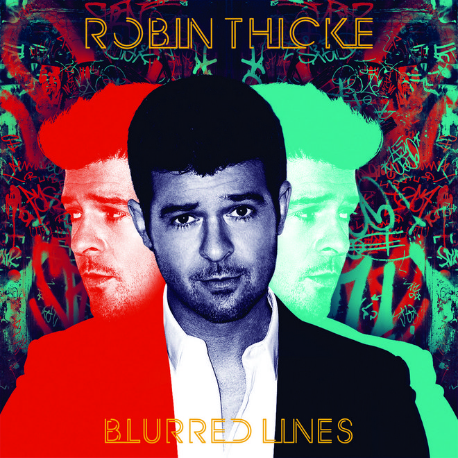f2 Robin Thicke - Blurred Lines