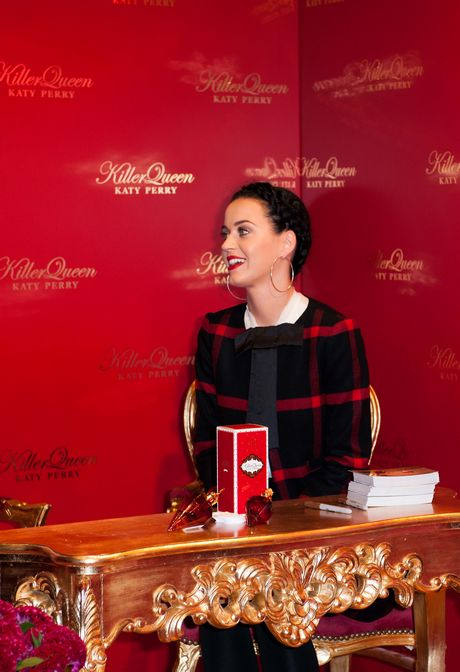 Katy Perry launches her new fragrance in Berlin