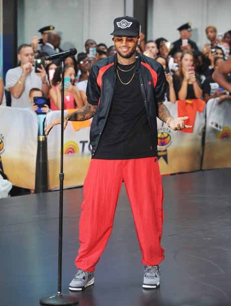 "Chris Brown Performs On ""Today"" Show"