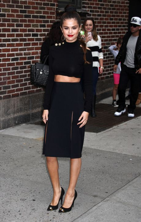 Celebs On The 'Late Show With David Letterman'