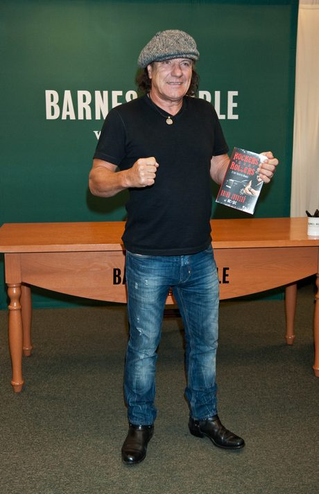 Brian Johnson Shows Barns & Noble How To Rock