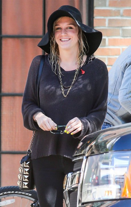 Kesha Steps Out In NYC