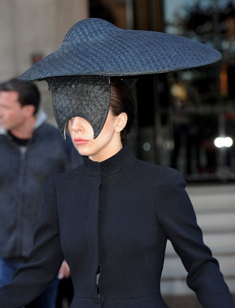 How Can Lady Gaga See In That?