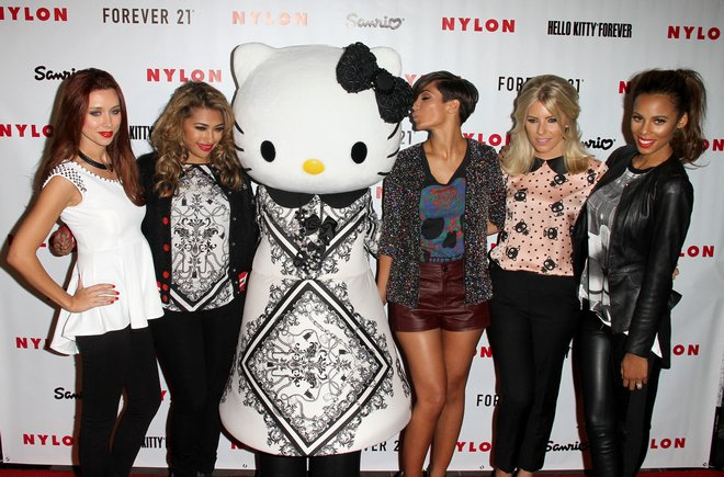 The Saturdays at the NYLON and Hello Kitty Party in West Hollywood
