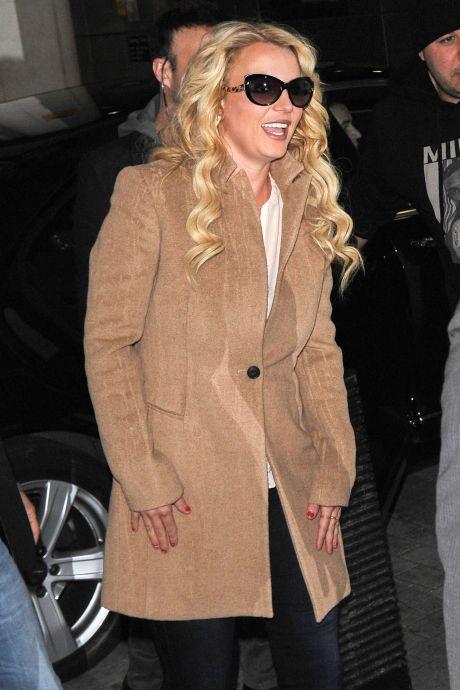 Britney Spears Visits BBC Radio One