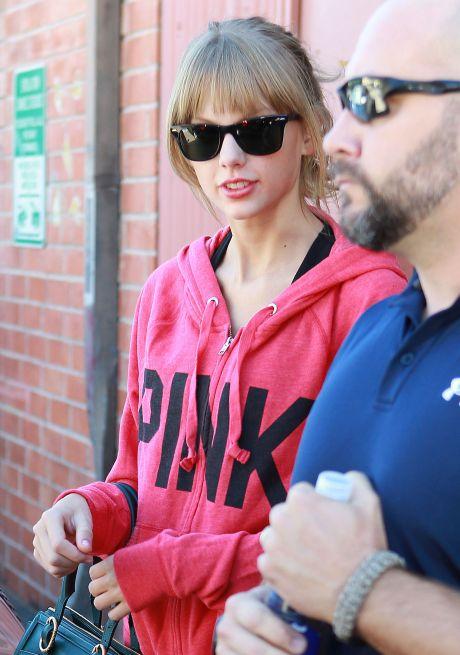 Taylor Swift Leaving A Dance Class In Los Angeles