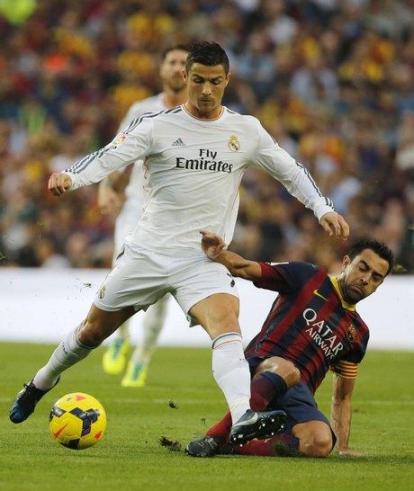 Xavi Hernandez, Cristiano Ronaldo