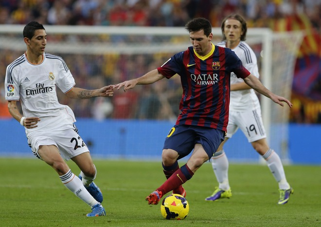 Lionel Messi , Angel Di Maria