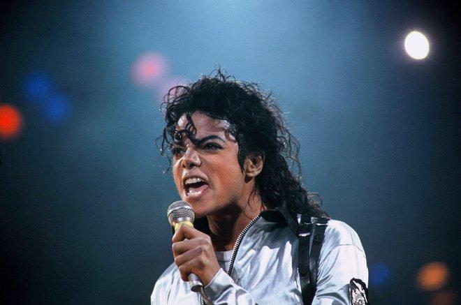 Paris, FRANCE : Concert de Michael Jackson