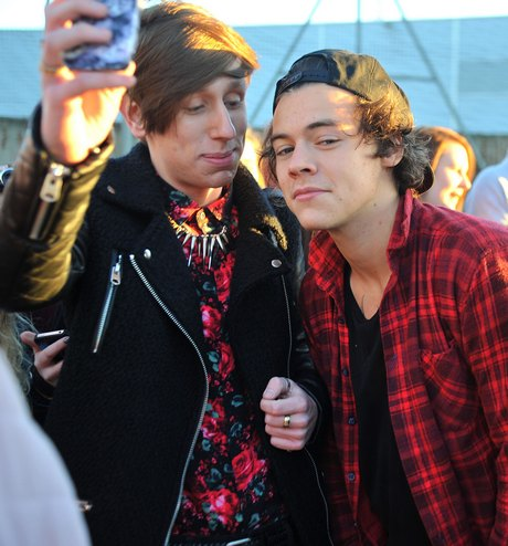 One Direction Receives A Warm Greeting At Heathrow Airport