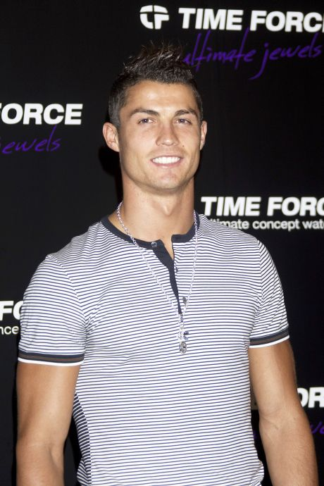 Christiano Ronaldo Is New Face Of Time Force Watches
