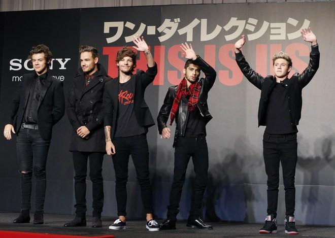Harry Styles, Liam Payne, Louis Tomlinson, Zayn Malik, Niall Horan