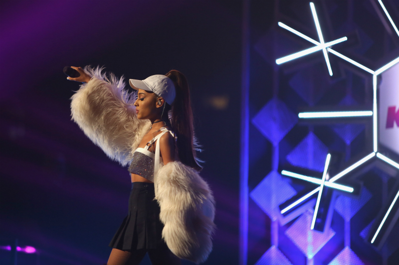 performs onstage during 103.5 KISS FM's Jingle Ball 2016 at Allstate Arena on December 14, 2016 in Rosemont, Illinois.